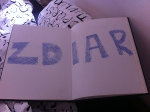 Zidar hitchhiking sign - by perpetuallyperipatetic