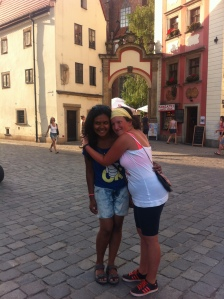 Love from a local girl at Wroclaw!