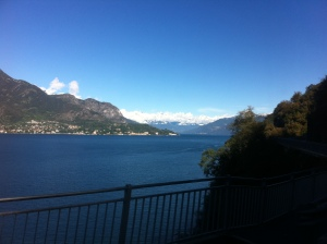 Como to Bellagio by bus